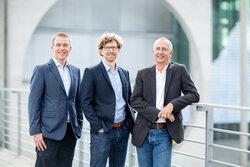 v.l.n.r.: Marcus Franken, Kai Weller, Marc C. Vogel<br /> © Silke Reents, Ahnen&Enkel