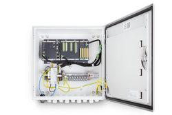 Durch die Integration der Funktionalitäten in ein einziges System wird die bestehende Kommunikations- und Sicherheitsinfrastruktur mitgenutzt.<br /> © Bachmann electronic GmbH