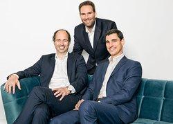 Juan Ruiz-Jarabo (Rechts), Henning Prigge (Links) und Andreas Bodensohn (Mitte)<br /> © Capcora
