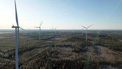 The Lakiakangas wind farm<br /> © CPC Finland Oy