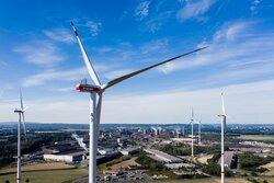 """Windenergieanlagen im Projekt """"Windwasserstoff Salzgitter""""<br /> © Avacon Natur GmbH"""
