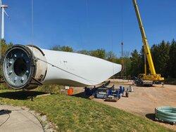 Im Technologiezentrum  Rennerod, dem ehemaligen  Hauptsitz der GFW, werden  Sonderkonstruktionen wie das  bodengestützte Windensystem  (BGWS) fortentwickelt.<br /> © Deutsche Windtechnik