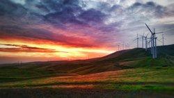 Deutsche Windtechnik und Leeward Renewable Energy unterzeichnen eine Servicevereinbarung für fünf U.S.-Windparks, darunter der Windpark Buena Vista (Kalifornien).<br /> © Leeward Renewable Energy