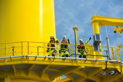 Deutsche Windtechnik signed four new contracts for inspection and maintenance of the balance of plant at four Dutch offshore wind farms.<br /> © Deutsche Windtechnik