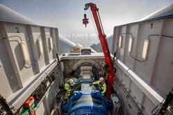 Wartungseinsätze an den Turbinen gehören zum Leistungsportfolio der neu gegründet Einheit Deutsche Windtechnik Offshore Ltd.<br /> © Deutsche Windtechnik AG