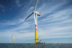 Deutsche Windtechnik has been providing complete service for the Nordergründe offshore wind farm for a year.<br /> © Deutsche Windtechnik