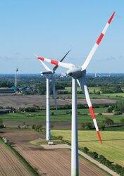 Windpark bei Horstedt (Nordfriesland)<br /> © Clorius