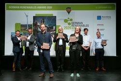 BU: Preisträger des German Renewables Awards 2020<br /> © Erneuerbare Energien Hamburg Clusteragentur GmbH