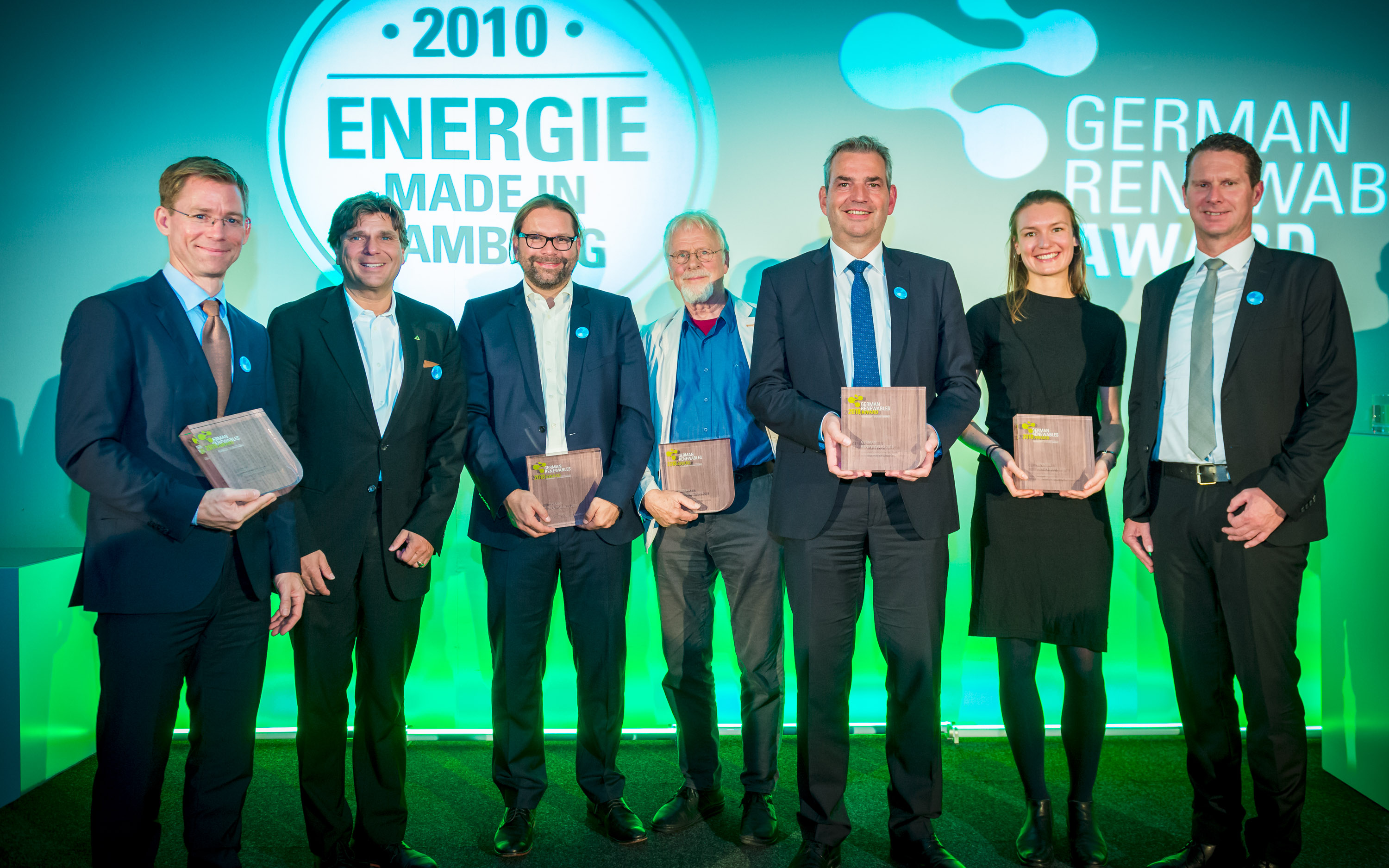 Verleihung des 7. German Renewables Awards 2018