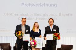 Preisträger des Geothermischen Energiepreises 2018<br /> © ENERCHANGE GmbH & Co. KG