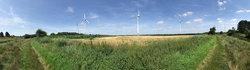 Windpark Esterwegen: Drei Anlagen des Typs Enercon E-58 werden durch zwei E-138 ersetzt.<br /> ©  Energiequelle GmbH