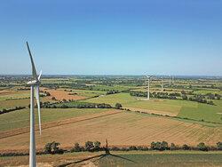 La Chapelle-Glain wind farm<br /> © P&T Technologie