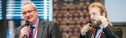 Das Wind Tutorial zu Systemdienstleistungen von Erneuerbaren Energien am 10. November präsentieren Dr. Thomas Ackermann und Peter-Philipp Schierhorn.<br /> © Energynautics GmbH