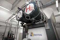 Innenansicht des Hybridkraftwerks von ENERTRAG bei Prenzlau<br /> © ENERTRAG Aktiengesellschaft
