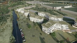 Visualisierung Green Areal Lausitz<br /> © Euromovement