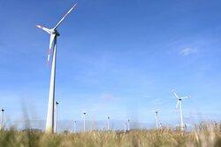 Vollwartung inkl. Großkomponenten von ENOVA Service für den Windpark Scharrel<br /> © ENOVA Service
