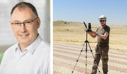 Michael Melsheimer, Geschäftsführer Green Wind Engineering / Test-Unwuchten<br /> © Pablo Castagnola / Green Wind Energy
