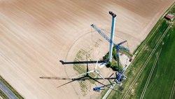 Etliche Windenergieanlagen in Deutschland erreichen demnächst das Ende ihrer Lebensdauer – und müssen nachhaltig zurückgebaut werden.<br /> © neowa GmbH