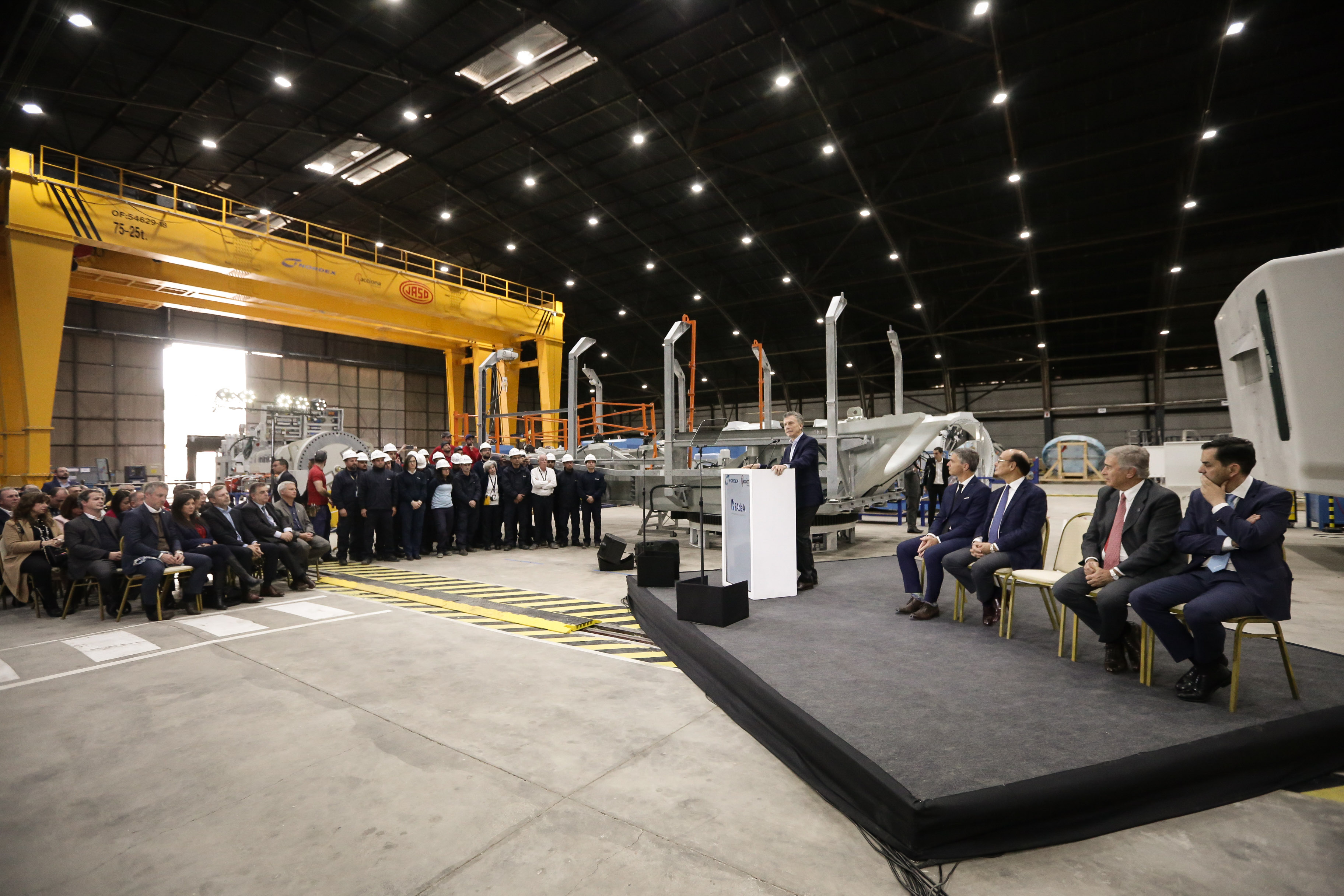 Nordex Group And Fadea Celebrate Official Opening Of A