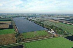 BU: Luftaufnahme des Solarparks Schornhof<br /> © ANUMAR