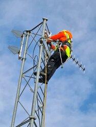 Die Parasol-Antenneneinheit des von der DFS anerkannten BNK-Systems im Windpark Neuenkrug/Wöhrden in Dithmarschen<br /> © Parasol GmbH & Co.KG