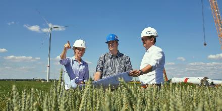 Windwärts beginnt mit Bauarbeiten für Windpark Siegfriedeiche