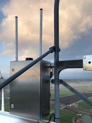 Wesermarsch: erste transponderbasierte Detektionssysteme mit multilateraler Struktur im Praxistest<br /> © Quantec Sensors GmbH