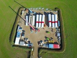UKA-Repoweringprojekt: Erste Anlage im Windenergiepark Warnsdorf geht in Betrieb.<br /> © Vestas Wind Systems A/S