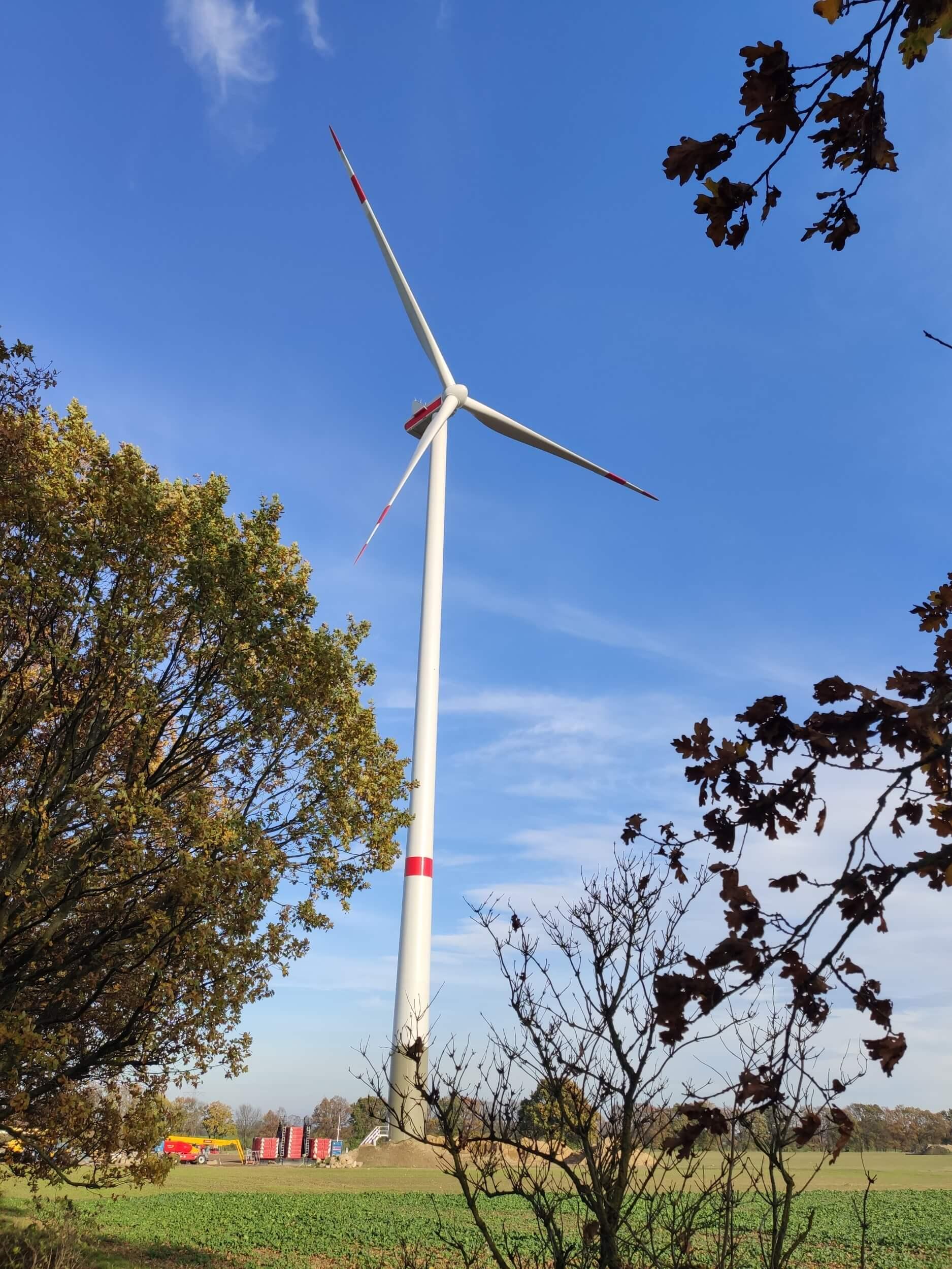 UKA-Windpark Warnsdorf: Alle Anlagen voraussichtlich ab morgen in Betrieb