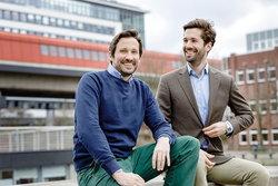 Wechselpilot-Gründer Jan Rabe und Maximilian Both<br /> © Wechselpilot GmbH