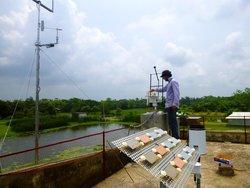 Site  Assessment in Bangladesch<br /> © windtest grevenbroich gmbh
