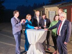 Moment der Inbetriebnahme des BNK-Systems um 22.23 Uhr.<br /> © wiwi consult GmbH & Co. KG