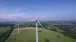 ENERCON-Anlagen im bereits in Betrieb befindlichen französischen wpd Windpark Mont du Saule<br /> © wpd AG