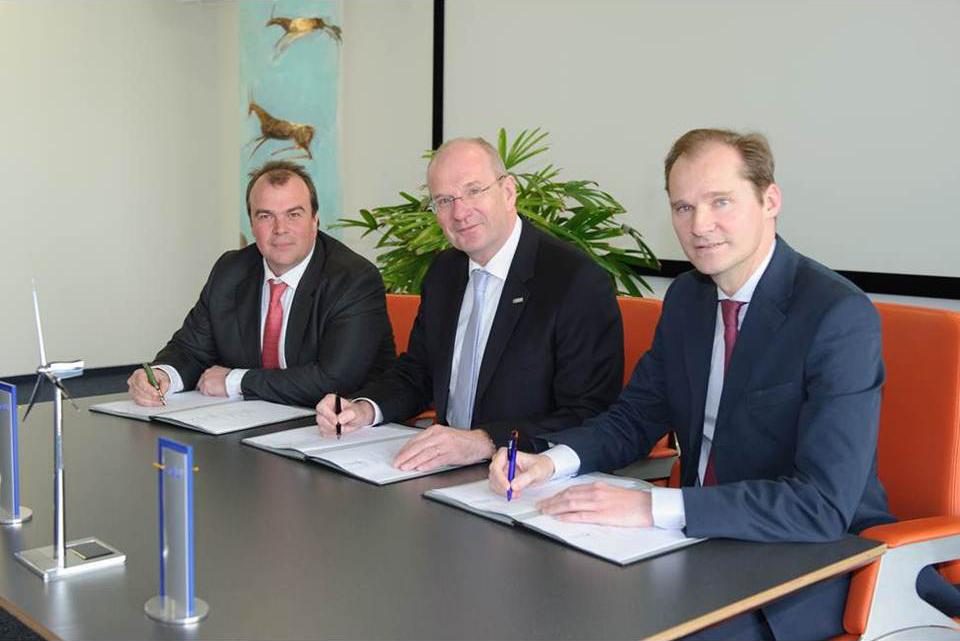 Kooperationsvertrag zur Entwicklung von Windkraftprojekten abgeschlossen