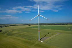 Windprojekt Oldrisov in Tschechien<br /> © Ostwind AG