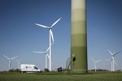 Die Deutsche Windtechnik bietet ab sofort Service für Turbinen der Marke Enercon in Deutschland an.<br /> © Deutsche Windtechnik AG